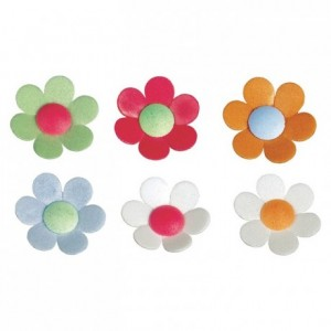 Wafer anemone flower (133 pcs)