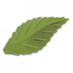 Décor azyme feuille verte (lot de 500)