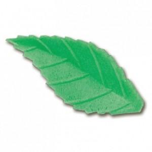 Décor azyme feuille vert foncé (lot de 500)