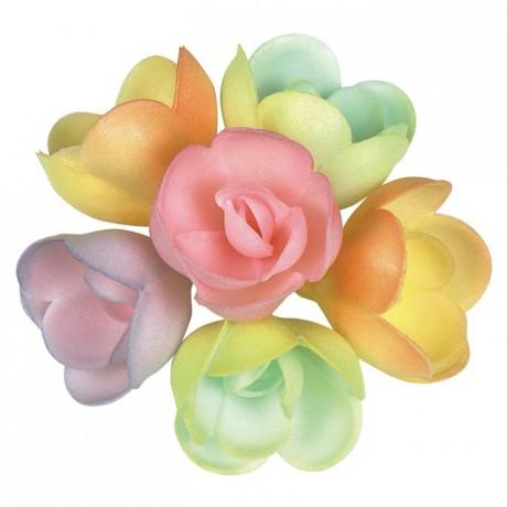 Décor azyme rose pastel (lot de 72)