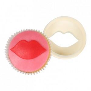 Découpoir à cupcakes FMM lèvres et disque lisse