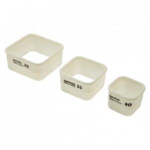 Découpoir carrés 70 x 70 mm en Exoglass