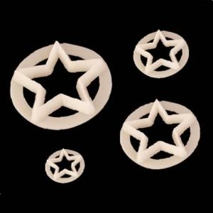 Découpoir FMM étoile (lot de 4)
