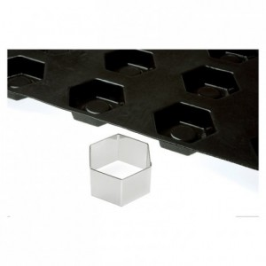 Découpoir forme Flexipan hexagone 72 x 72 mm