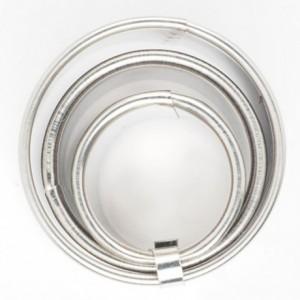 Découpoir FunCakes anneau (lot de 3) 4,5 et 6 cm