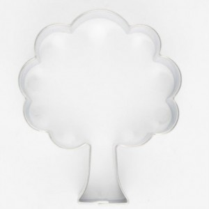 Cookie Cutter Tree 6 cm