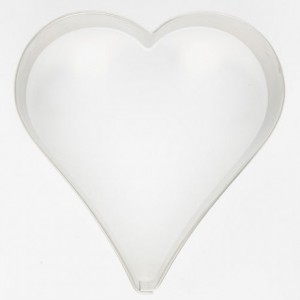 Cookie Cutter Heart 10 cm