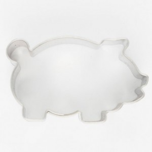 Cookie Cutter Pig 4,5 cm
