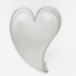 Cookie Cutter Decorative Heart 3 cm
