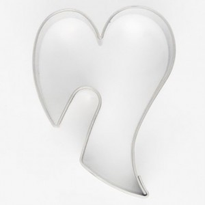Cookie Cutter Decorative Heart 5,5 cm