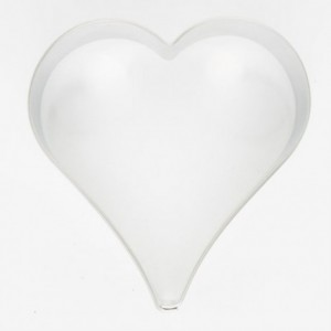 Cookie Cutter Heart 8 cm