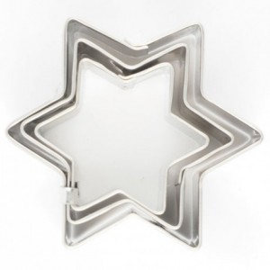 Cookie Cutter Star set/3