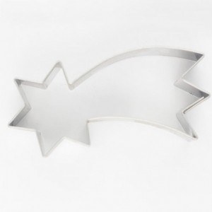 Cookie Cutter Falling Star 6,5 cm