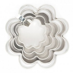 Cookie Cutter Flower set/5