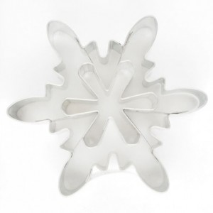 Cookie Cutter Ice Crystal 1 Ø7,5 cm