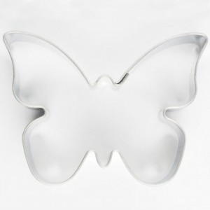 Cookie Cutter Butterfly 6,5 cm