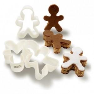 Découpoir Gingerbread Man 110 x 78 x 35 mm en Exoglass