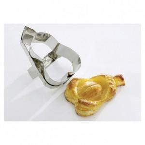 Découpoir pomme en inox 120 x 110 mm