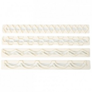Découpoirs FMM bordures n°5 4 pièces