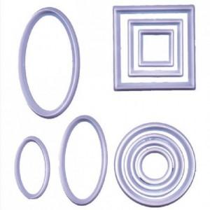 Découpoirs FMM formes géométriques 10 pièces