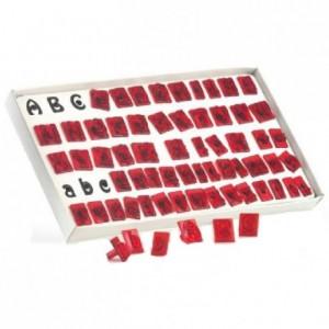 Découpoirs JEM alphabet 64 pièces
