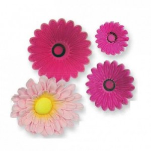 JEM Small Multi Petal Daisy Gerbera Cutter Set/3