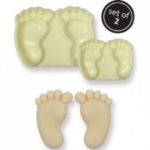 JEM Easy Pops Baby Feet Set/2