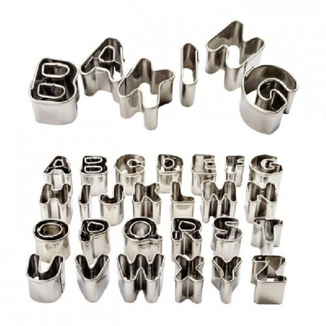 PME Alphabet & Number Cutter Set