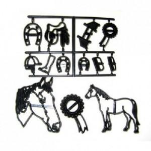 Découpoirs Patchwork cheval et accessoires