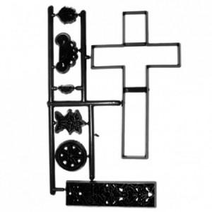 Découpoirs Patchwork croix et dentelles