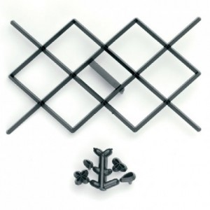Découpoirs Patchwork motif à carreau