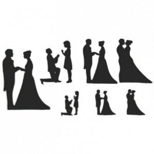 Découpoirs Patchwork mariage