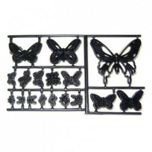 Découpoirs Patchwork papillons, des coccinelles et des abeilles