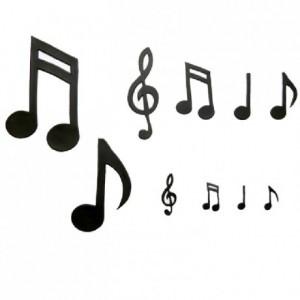 Découpoirs Patchwork notes de musique