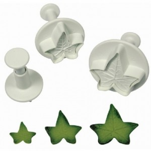 PME Holly Leaf Plunger Cutter pk/3