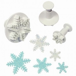 PME Snowflake Plunger Cutter pk/3