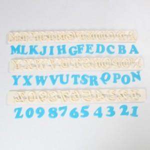 Découpoirs Tappits FMM alphabets et nombres Art Deco Upper Case