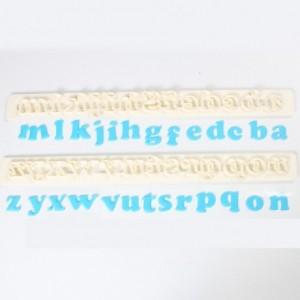 Découpoirs Tappits FMM alphabets Art Deco Lower Case