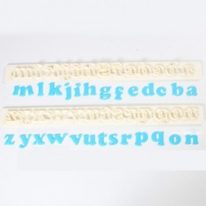 FMM Alphabet Tappits Art Deco Lower Case