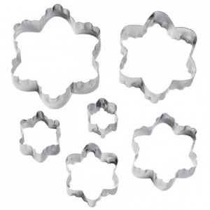 Wilton Double Cut Outs Blossom Set/6