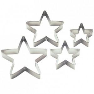 Découpoirs Wilton étoiles 4 pièces