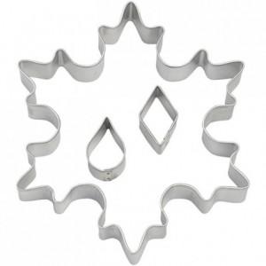 Découpoir Wilton flocons de neige imbriqués (lot de 3)