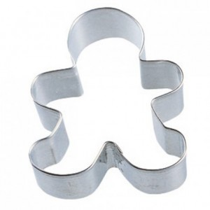Wilton Metal Cookie Cutter Gingerbread Boy -7.5cm-