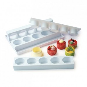Hexagon cake ejector 61 x 61 mm