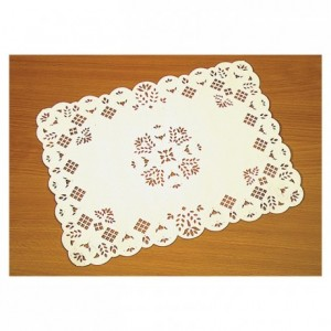 Rectangular greaseproof doily Préférence 300 x 400 mm (250 pcs)