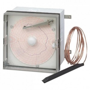 Diagramme -35°C/+15°C pour enregistreur à température (lot de 100)