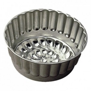 Diplomate or bavarois mould tin Ø180 mm (pack of 3)