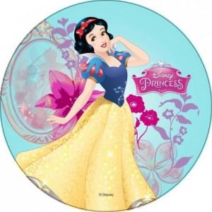 Disque en sucre Princesses Disney 22 cm