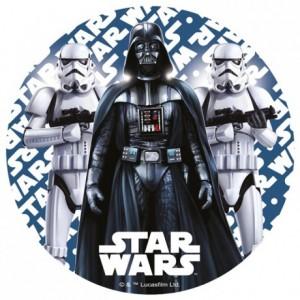 Disque en sucre Star Wars 22 cm