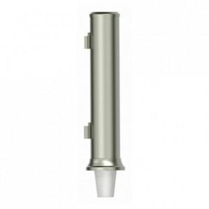 Distributeur inox pour gobelets Ø 78 mm à 85 mm (lot de 1)